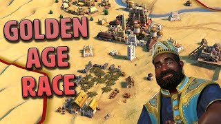 Golden Age Race - Mali [#2] - Civilization VI Gathering Storm