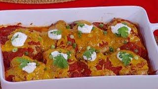 ديما حجاوي تحضر دجاج مشوي بالصلصة المكسيكية مع التغميسة