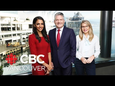 WATCH LIVE: CBC Vancouver News At 6 For July 25 — Canada-Wide Manhunt, Border Politics, Heat Wave