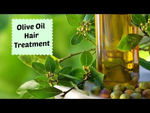 Olive Oil Hair Treatment | For Damaged Hair
