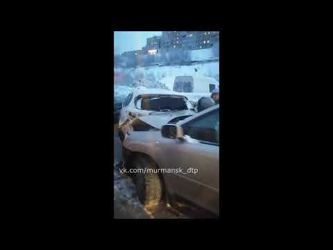 Nord-News: В Мурманске ДТП из семи авто устроила пьяная автоледи