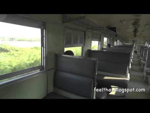 นั่งรถไฟสายอีสานจากโคราชไปหนองคาย เปลี่ยนต่อรถช่วงบัวใหญ่-ขอนแก่น