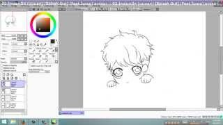 [CG SpeedPaint - fanart ] - • BAERI from BigBang - DRAW • - [1/2]