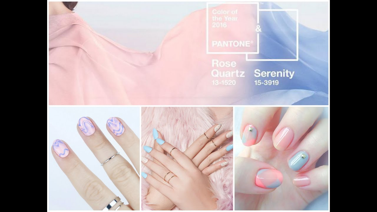 Pastel Nail Art Designs Pink And Blue Pastel Nails Pastel Spring