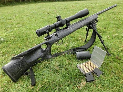 CZ 455  17 HMR - 200 Yard Target Shooting