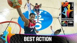 Dominican Republic v USA - Best Action - 2014 FIBA Basketball World Cup