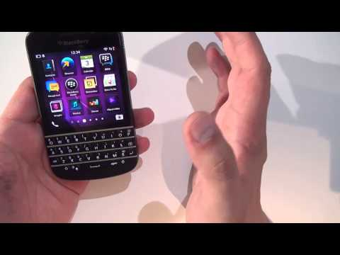 BlackBerry Q10 vs Z10 unboxing and review (www.buhnici.ro)
