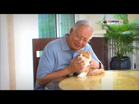 DS Najib Tun Razak : Ketenangan di Seri Perdana