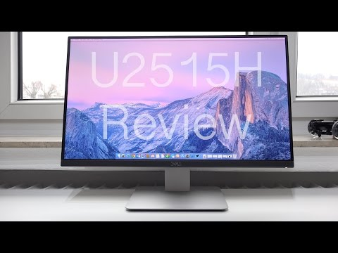 Review: Dell UltraSharp U2515H WQHD IPS Monitor