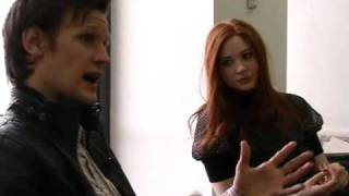 Dr Who: Matt Smith and Karen Gillan talk to Mirror.co.uk