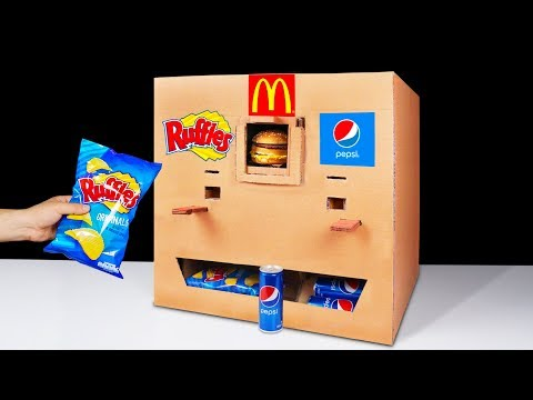 Thumbnail: How to Make Ruffles McDonald's and Pepsi Vending Machine