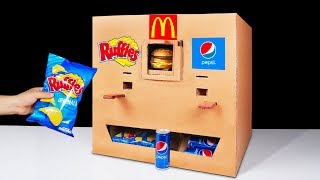 How to Make Ruffles McDonald's and Pepsi Vending Machine