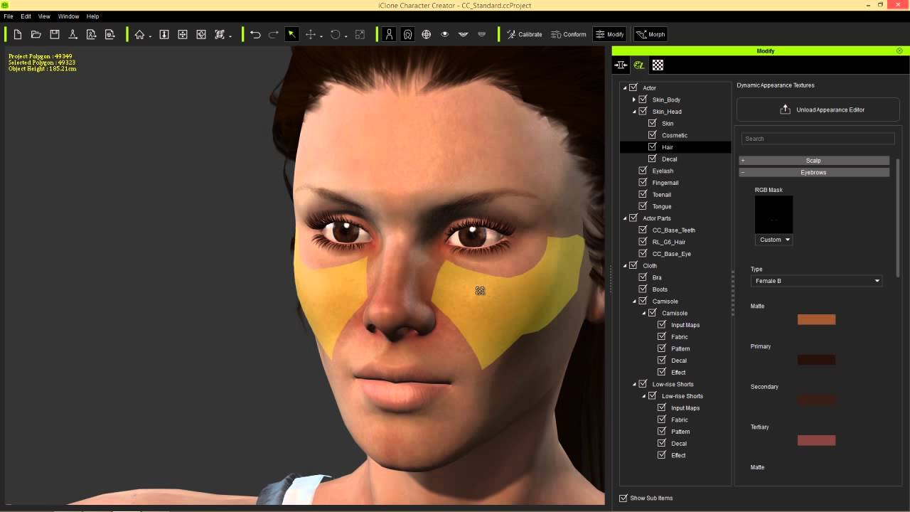 Character Creator to Unreal Part 1: Character Creation ...