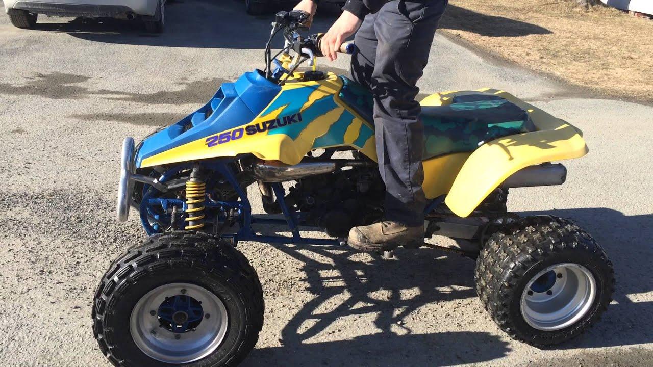 1992 quad racer 250r - youtube