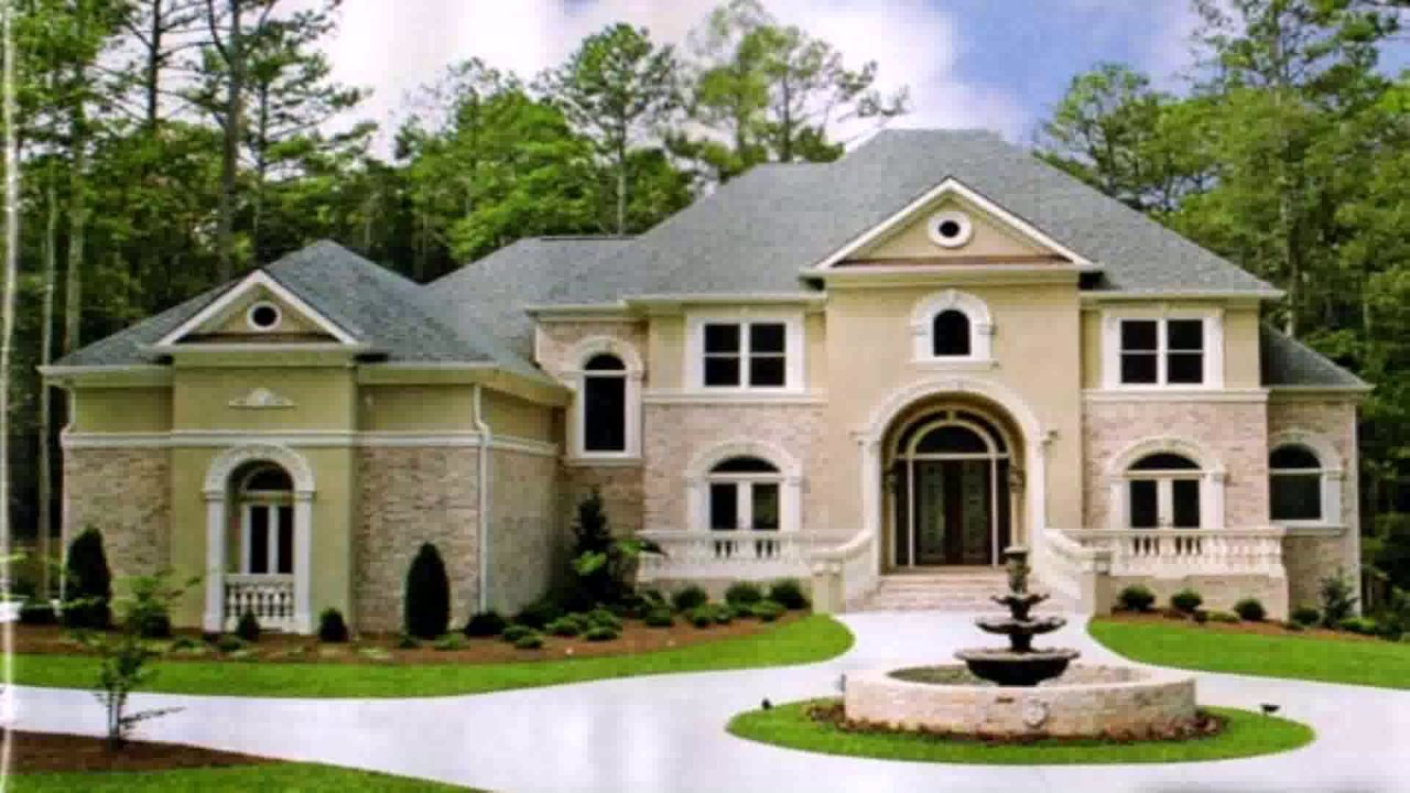 House design european style youtube for European house design