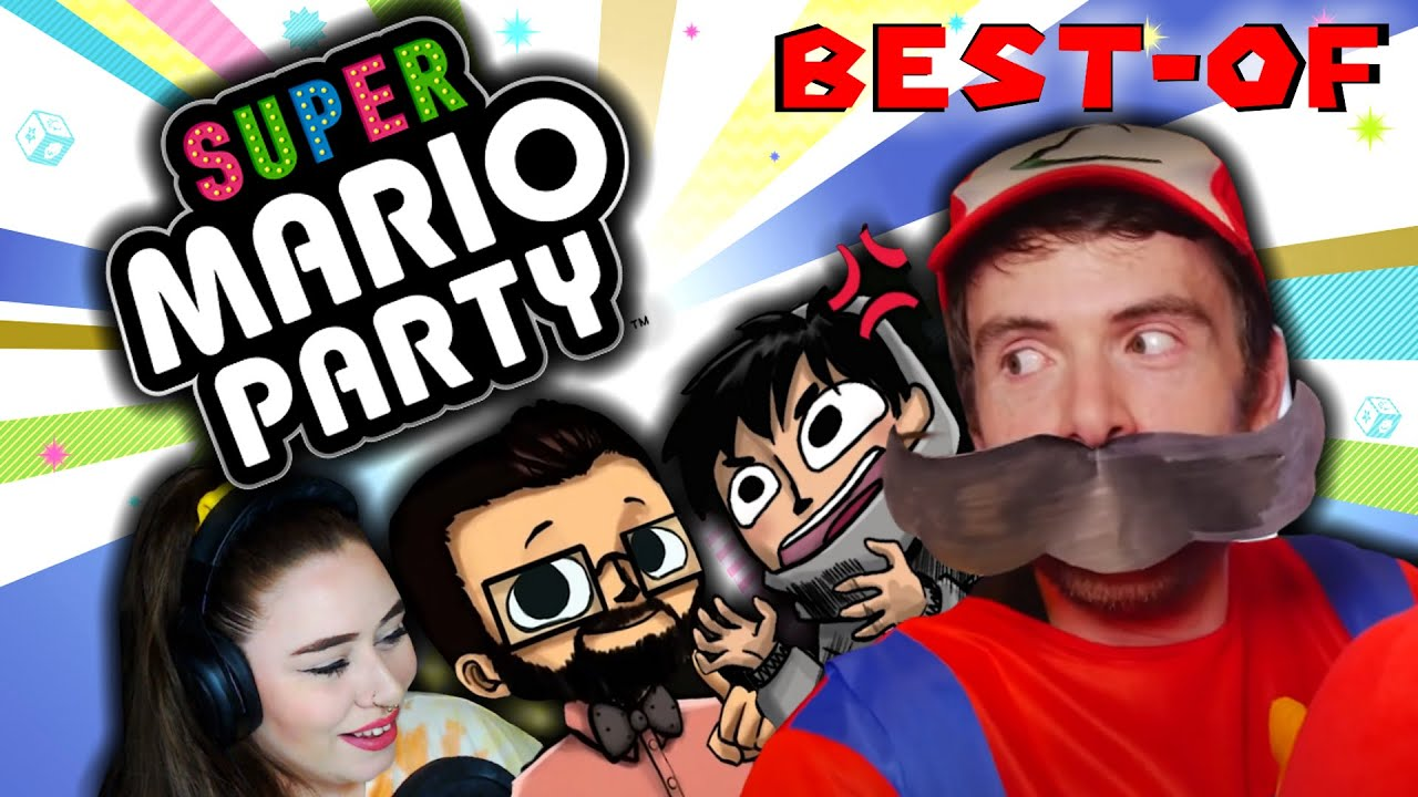 SUPER MARIO PARTY feat. Trixy, MrBboy45 & Alfouille (Best-of Twitch)