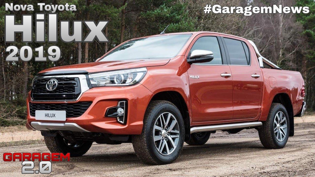 Nova Toyota Hilux 2019 Garagem 2 0 Youtube