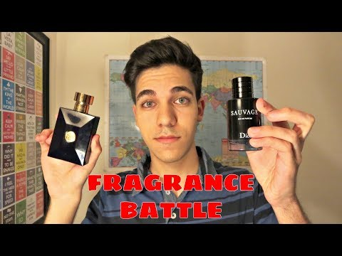 DIOR SAUVAGE EDP VS VERSACE DYLAN BLUE FRAGRANCE BATTLE!