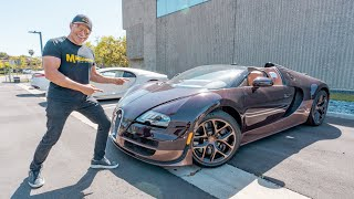 Taking Out The World's Fastest Roadster! (Rembrandt Bugatti)