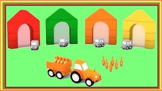 MAGİC BOWLİNG! Karikatür Çocuklar için Çocuklar için Videolar - Öğren Renkler Çizgi film Arabalar. Çocuklar Arabalar Karikatürler