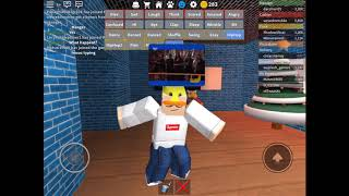 Roblox Hip-Hop dancing, can I get 50 likes?