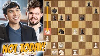 That's Why I'm World Champion || Carlsen vs Wesley So || Champions Showdown: Chess9LX (2020)