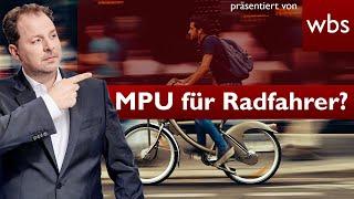 #MPU: Idiotentest auch für Fahrradfahrer? | Rechtsanwalt Christian Solmecke