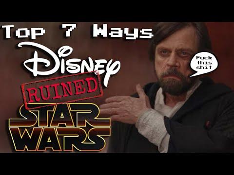 Top 7 Dumb Disney Star Wars Moments
