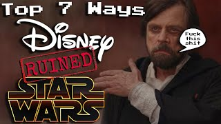 Top 7 Dumb Disney Star Wars Moments