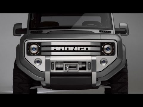 Ford Bronco Price and Release date