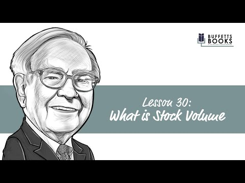 30. What is Stock Volume