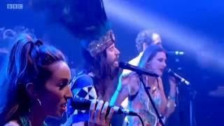 Glastonbury  2014  Crystal Fighters on the John Peel stage