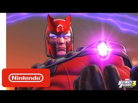 MARVEL ULTIMATE ALLIANCE 3: The Black Order - X-Men Trailer - Nintendo Switch