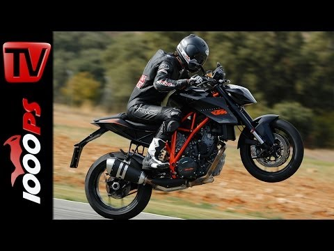 KTM 1290 Super Duke R - Racetrack Test