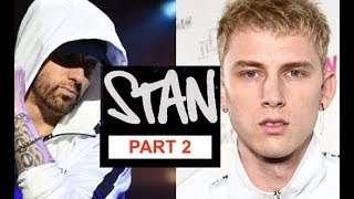 Eminem EXPOSES MGK as the ULTIMATE STAN, MGK Obsession with Eminem is Spooky!