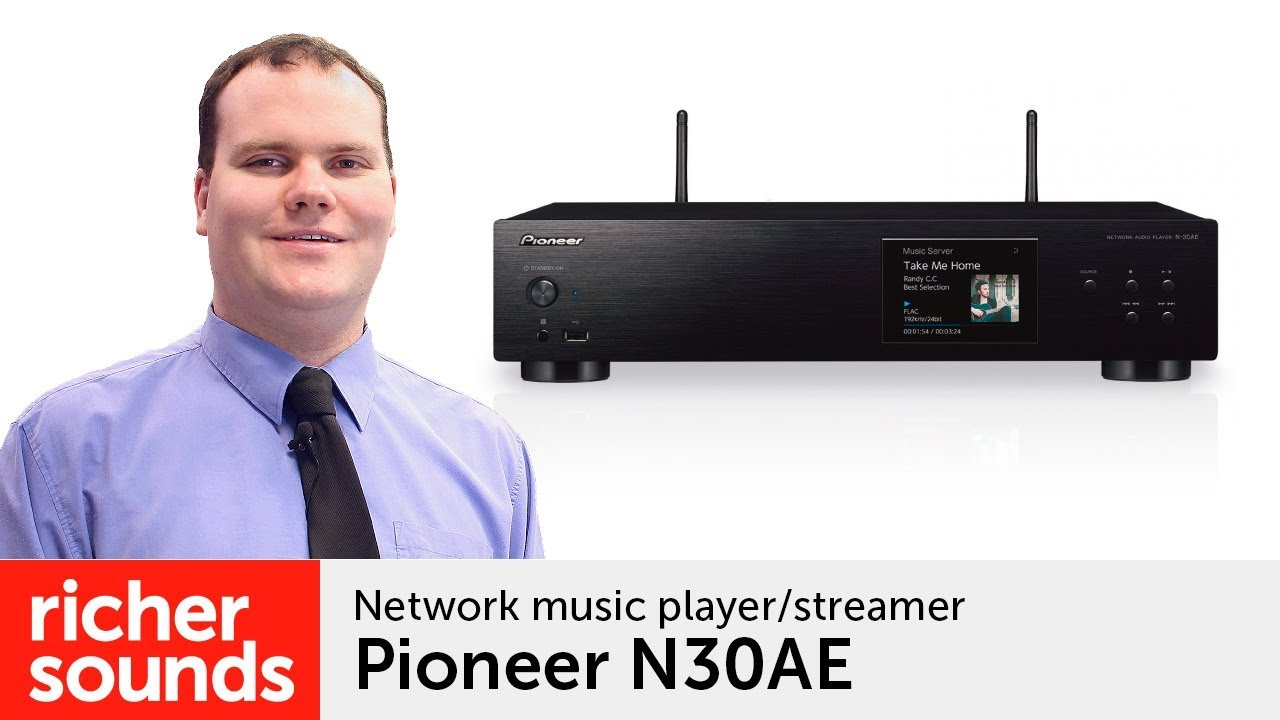 Pioneer N30AE - network music player/streamer | Richer Sounds