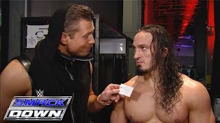 """The Miz offers to make Neville """"awesome"""": SmackDown, December 3, 2015"""