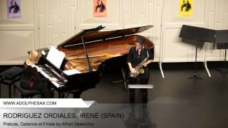 Dinant 2014 - RODRIGUEZ ORDIALES Irène (Prelude, Cadence et Finale by Alfred Desenclos) thumbnail