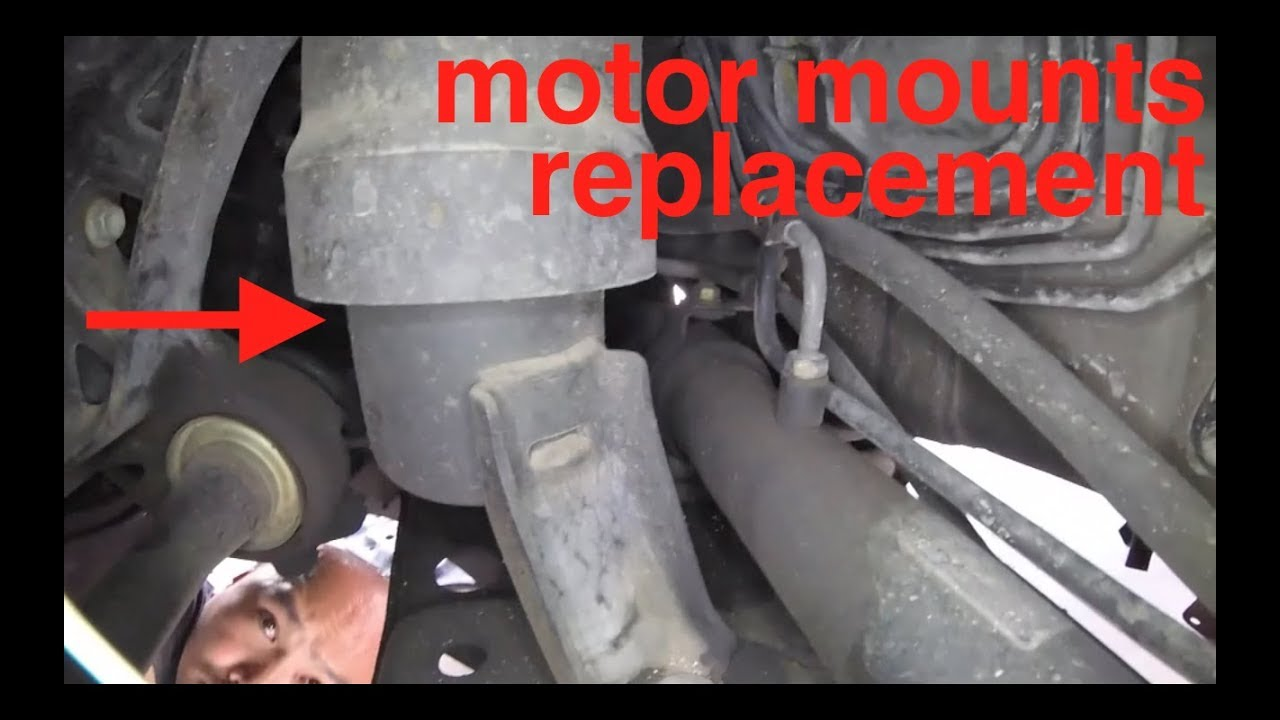 Motor Mount Noise Complete Replacement Toyota Camry Fix It Angel 2e Engine Diagram 2005