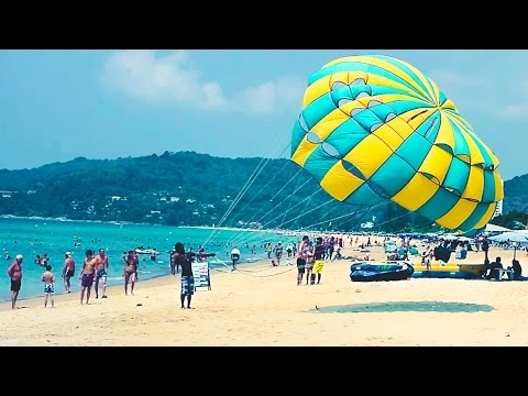Karon beach | Phuket beaches | Thailand Phuket travel blog [ENG SUB]