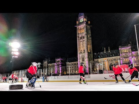 Playing Hockey on Parliament Hill: Meet Coach Cassie Campbell