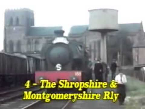 Steam railways of Britain 1956 to 1958