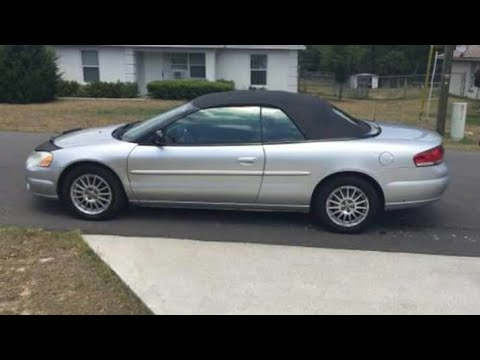 How To Update On 05 Chrysler Sebring Convertible Top