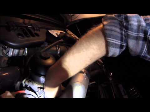 EGR Valve Dampness check 6.0 Powerstroke