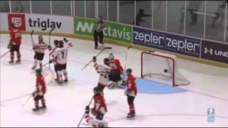 Hungary vs. Austria - 2014 IIHF Ice Hockey World Championship Division I Group A