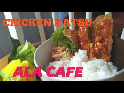 Chicken Katsu Bowl   Rice Bowl   Lunch Menu   Ayam Katsu Ala Cafe