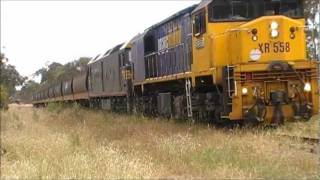 Maryborough Ararat line wagon removal