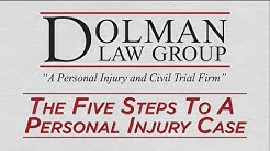 The Five Steps To A Personal Injury Case | Clearwater Auto Accident Attorney