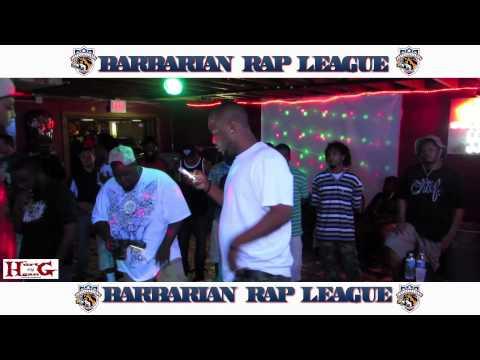 Tony Bruce vs Dat Boi Mecca Barbarian Rap League