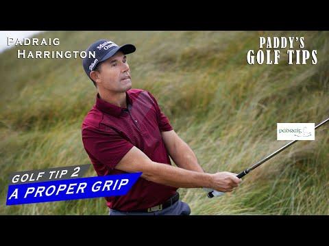 A PROPER GRIP | Paddy's Golf Tip #2 | Padraig Harrington